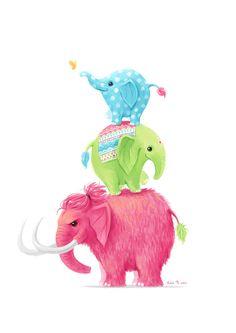 Elephants by freeminds on DeviantArt