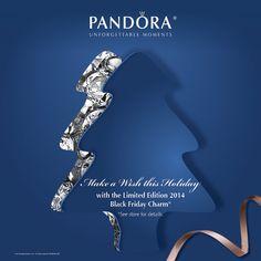 Pandora Black Friday Charm 2014 at Marinelli Jewelers, Eastport, NY
