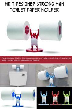 Mr T Designed Strong Man Toilet Paper holder