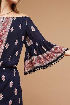 Anthropologie Favorites:: April Presale New Arrivals Anthropologie Daily Fashion, Boho Fashion, Fashion Dresses, Womens Fashion, Pakistani Bridal Dresses, Pakistani Dress Design, Kurti Sleeves Design, Bridal Dress Design, Dress Neck Designs