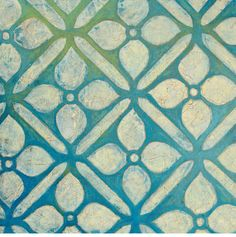 Cross Lattice Print by Hope Smith.
