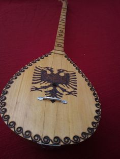 """Such sweet sounds. . .such a beautifully hand-made instrument! -- """"Qifteli"""" by RedandBlackArtisan on Etsy"""