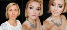 Makijaż wieczorowy ślubny fantazyjny Słupsk Gdynia Sopot Gdańsk: Przydymione oko tutorial - smoky eyes makijaż wieczorowy dla każdej kobiety