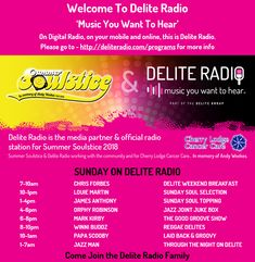 🎙Today on Delite Radio📻- also check out http://www.deliteradio.com/programsONLINE 💻, ON YOUR MOBILE 📱ON DIGITAL RADIO📻, PLAYING YOU THE MUSIC YOU WANT TO HEAR, 🎼👈🏼🔊👂THIS IS DELITE RADIO.