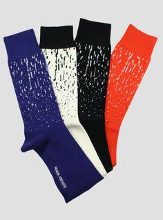 Henrik Vibskov Blizzard Socks | The Sock Hop #socks #thesockhop #sockhopny