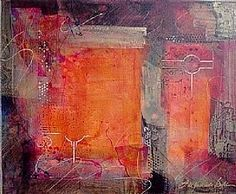 Interval  ~  Filomena Booth  ~   acrylic ~ 24 x 30