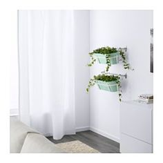 IKEA - SOCKER, Jardinière avec support, Le support vous permet d'installer la jardinière ou des pots de fleurs sur le balcon pour créer un coin jardin, même en cas d'espace restreint.