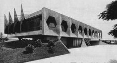 Residência para Ministro de Estado / João Filgueiras Lima (Lelé)Arquitetos: João Filgueiras Lima (Lelé)Localização: Brasília - Federal District, BrazilAno Do Projeto: 1965Fotografias: Flickr Arnout Fonck