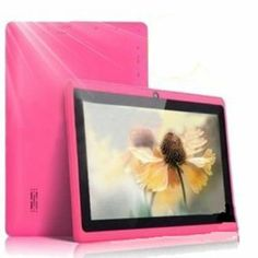 """7"""" inch Touch Screen Allwinner A13 1.0GHz CPU Android 4.0 Tablet PC 4GB HDD 512MB WiFi (PinkRRP: £59.99 Price: Your Price £39.99 & this item Delivered FREE in the UK with Super Saver Delivery.See details and conditions You Save: £20.00 (33%) Only 1 left in stock. Gift-wrap available."""