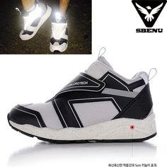 (SBENU) B(VT)-002 BK VELCRO TECH Men Women Sneaker Running Elevator Shoes AOA IU #SBENUhellobincom #RunningFashionSneakerShoes