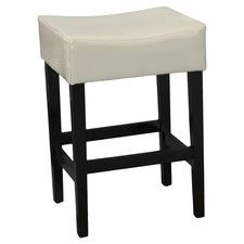 "26.71"" Bar Stool with Cushion (Set of 2)"