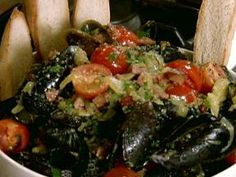 Best mussels on earth - Aaron McCargo Jr