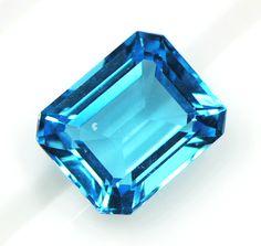 ブルートパーズ Crystals Minerals, Rocks And Minerals, Stones And Crystals, Constellations, Lucky 7, Gems Jewelry, Jewellery, Topaz, Jewels