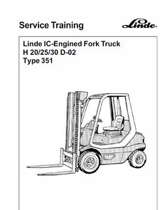 This Linde Type 351 LPG Forklift Truck: Service Training Manual contains detailed repair instructions and maintenance specifications to facilitate your repair and troubleshooting. Truck Covers, Circuit Diagram, Cover Model, Houston Tx, High Quality Images, Manual, The Unit, Trucks, Fulton