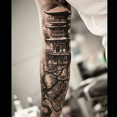temple tattoo designs - Google Search