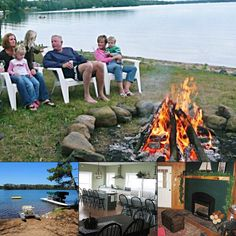 The Old Chicago Club by Majestic Escapes in Hayward, WI, has you covered for cozy cabin gatherings around the fire, no matter the weather! Plan your group getaway direct with the owner: #bookdirect #hayward #reunion #itscabintime