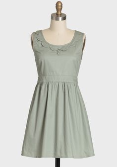 Woodland Hush Indie Dress In Sage.  Shopruche.com.  This is really cute but it's almost out of stock.