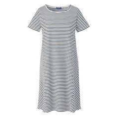 Kleid mit leicht ausgestelltem rock