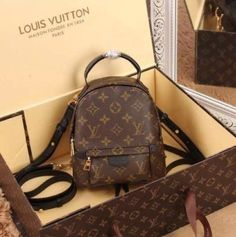 2019 New LV Collection For Louis Vuitton Handbags women Fashion . - 2019 New LV Collection For Louis Vuitton Handbags women Fashion Must hav - Luxury Handbags, Purses And Handbags, Leather Handbags, Spring Handbags, Tote Handbags, Leather Bags, Palm Springs Mini Backpack, Sacs Design, Chanel