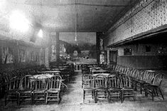 Deadwood The Interior of the Gem Theater, 1880.