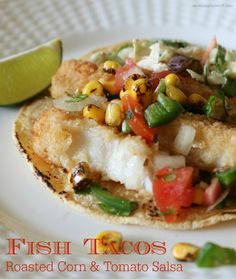 Fish Tacos with Roas
