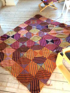 Kaffe Fassett Mystery knit-along