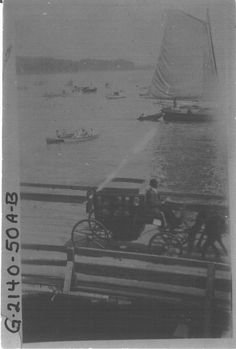 Opening of Severn River Bridge @ naval Academy in Annapolis, MD... circa 1924