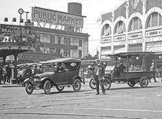 Pike Place Market, 1919, Seattle, Washington