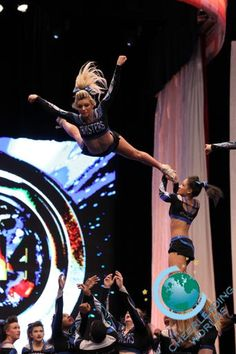 The Cheerleading Worlds 2014 - Maryland Twisters Cheerleading Videos, High School Cheerleading, Cheer Stunts, Cheer Dance, Twirling Baton, Carly Manning, Cheer Workouts, Cheer Athletics, Cheer Quotes