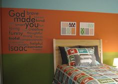 the kids' rooms, love!