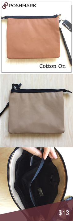 Cotton On Carry Me Around Purse Brand New Tan/Beige purse. Optional straps. Cotton On Bags Shoulder Bags