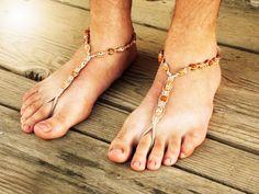 Jasper Barefoot Sandals Men, Foot Jewelry, Men Bare Sole Sandals, Men Beach Shoes, Men Sandals, Soleless Footwear Men, Hemp Sandals Son sexys ¡pero no te preocupes!... no involucran strippers ni hombres desnudos.