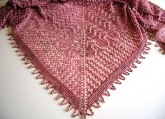 Smoking Hot Needles: Mohana shawl is available now!