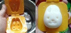 Conejo huevo presión!  Meng Meng Meng!  (Kotobuki - Molde plástico del huevo del conejo) super ah quiero