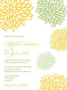 87 best yellow green wedding images on pinterest yellow floral