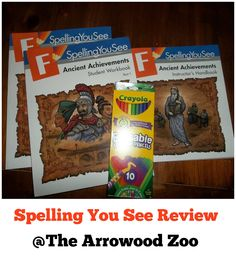 The Arrowood Zoo: Spelling You See { Review }