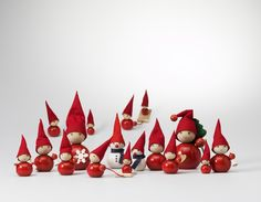 Wooden Christmas decorations, including tonttus and Christmas bells, are an easy way to add understated festive charm to your home at Christmas. Buy your Santa's elves, angels, snowmen and other Christmas decorations online from Arctic Fashion. Swedish Christmas, Christmas Elf, Christmas Colors, Christmas Crafts, Christmas Ornaments, Christmas Images, Christmas Decorations Online, Holiday Decor, Advent