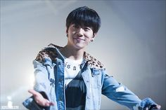 140309 Yongguk - Live on Earth 2014 in Seoul (cr: Stuck On You || DO NOT EDIT)