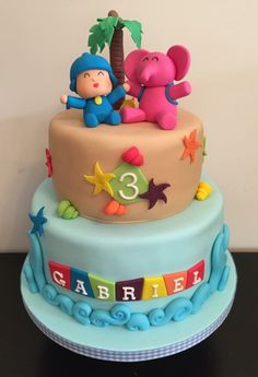 a pocoyo cake