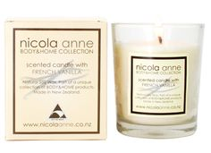 Nicola Anne Scented Candle – French Vanilla – Candles of New Zealand | Shop New Zealand NZ$ 33.90