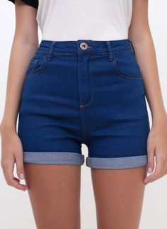 Blue And White Jeans, Black Ripped Jeans, Striped Jeans, Blue Jeans, Skinny Jeans, Summer Shorts Outfits, Short Outfits, Outfit Summer, Jeans For Short Women