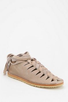 Frye Holly Nubuck Caged Sandal  #urbanoutfitters