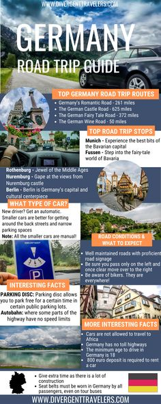 Make driving in Germany a breeze with this Ultimate Germany Road Trip guide. Includes road rules, parking, tips, routes, Romantic Road and more. Times Square, Romantic Road, Germany Travel, Travel Europe, Travel Destinations, Ultimate Travel, Travel Guides, Adventure Travel, Traveling By Yourself