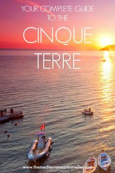 Cinque Terre - The Complete Guide to these 5 beautiful Italian villages, how to get there and around, and how to make the most of hiking this stunning region. #cinqueterre #italy #travel #liguria #tmtb #bucketlist
