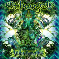 Entheogenic - Anthropomorphic Album Art (2013) by Hakan HISIM www.hakanhisim.net