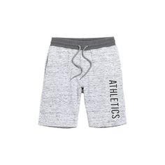 s Drawstring Letter Printed Knitted Breathable Thin Cusual Beach... (84 BRL) ❤ liked on Polyvore featuring men's fashion, men's clothing, grey, men pants & shorts shorts, mens sports apparel, men's apparel, mens clothing and mens beach apparel