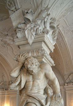 Vienna. Upper Belvedere Palace. Now that is sculpture!