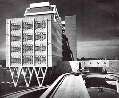 Hospital General de Tampico (IMSS) Boulevard Adolfo López Mateos, Cuidad Madero (Tampico), Tamaulipas, México 1967  Arq. Enrique Yáñez