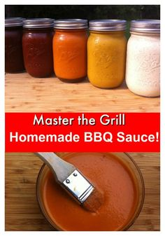 Homemade BBQ Sauce Marvelous Mustard BBQ SauceThis homemade bbq sauce will not be a hit with everyone but certain people will love it! The flavor of this bbq sauce is similar to honey mustard and is a variation on the classic Carolina mustard bbq sau Make Bbq Sauce, Homemade Bbq Sauce Recipe, White Sauce Recipes, Barbecue Sauce Recipes, Barbeque Sauce, Bbq Sauces, Alabama Bbq Sauce Recipe, Salsa Barbecue, Wing Sauces