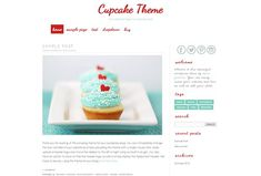 Wordpress Template - Cupcake by Theme Fashion on @creativemarket